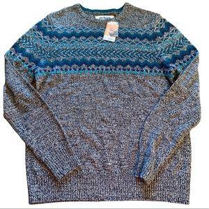 Urban Pipeline Fair Isle Men's Sweater Extra Large